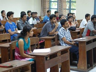 Classroom of Excel IIT Coaching Delhi