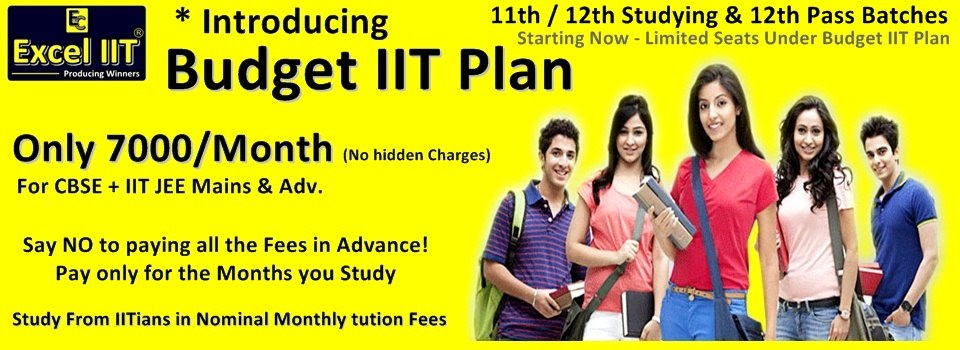 IIT Coaching @ Lowest Fees